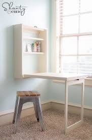 Desk For A Small Space Charming Folding Desks For Small Spaces In Decorating Decoration