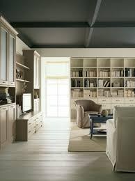 libreria tv séjour meublé en style classique