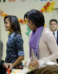 Obama First Family by Malia Obama Photos Photos First Family Helps Families At Food