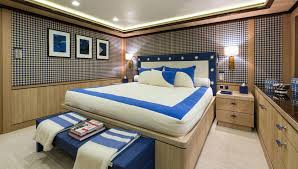 Yacht Bedroom by Axioma Superyacht Luxury Motor Yacht For Charter With Burgess