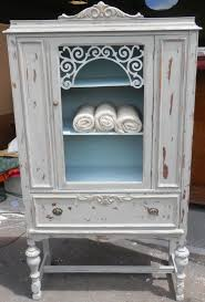 china cabinet antique white china cabinet with glass doors