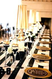black and gold centerpieces for tables black and gold table decorations black white and gold decor