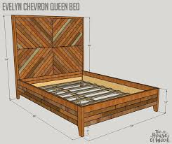 Build A Wood Bed Platform by Best 25 Wood Bed Frame Queen Ideas On Pinterest Diy Queen Bed