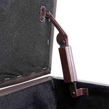 oz crazy mall blanket box ottoman storage pu leather foot stool
