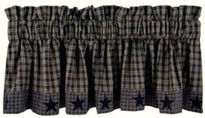Kitchen Curtains Blue by Navy Blue Plaid Kitchen Curtains Gingham Blue Kitchen Curtain Blue