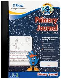 picture and writing paper amazon com mead mea09956 primary journal k 2nd grade office products