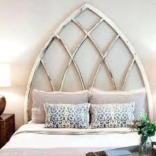 unique bed frames headboards unique headboard idea fixer upper