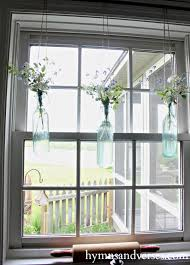 Vintage Home Decor Blogs Repurposed Vintage Bottles Hanging Vases Hymns And Verses