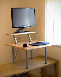 Adjustable Stand Up Desk Ikea Knotten Standing Desk Ikea Intended For Awesome House Stand