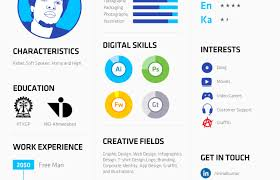 resume visual resume template amazing visual resumes images