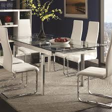 contemporary dining tables extendable modern extendable dining table for the home pinterest