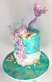 mermaid cakes mermaid birthday cakes best 25 mermaid cakes ideas on