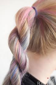 scunci easy plait hairstyle tutorial how to do a rope twist braid hair