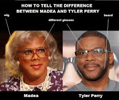 Tyler Perry Memes - difference between madea and tyler perry funny pinterest tyler