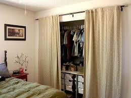 Replace Sliding Closet Doors With Curtains 332 Best Closet Door Ideas Images On Pinterest Bedroom Cupboards