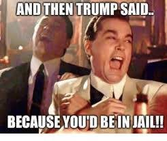 And Then I Said Meme - and then trump said because youdbein jail jail meme on esmemes com
