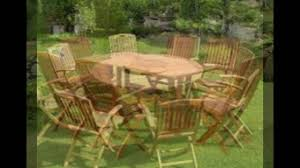 outdoor teak furniture in america youtube