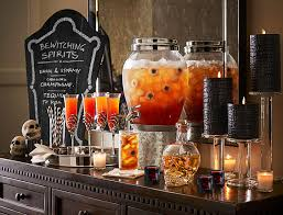 Pottery Barn Halloween Decorations Halloween Drink Bar Pottery Barn Halloween Decor U0026 Food