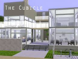 sims 3 modern house floor plans mod the sims the cubicle a modern home simsss d