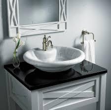 Bathroom Sink On Top Of Vanity Glass Sinks For Bathrooms Bathroom Vessel Sink Ideas Vessel Sink