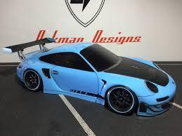 porsche blue gt3 blue porsche 911 gt3 rsr oak man designs