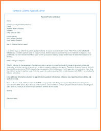 letter to appeal a medical claim denial with sample regarding