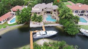 dustin johnson u0027s new florida house has a small private island