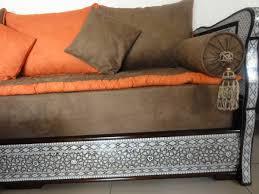 tissu pour canapé marocain salon marocain nacre tissu peau de pêche 100