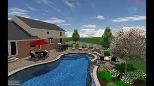 outdoor living 3d design vizx design studios landscape design