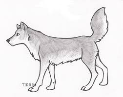simple drawings of wolves free download clip art free clip art