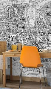 13 best dining room wall mural ideas images on pinterest mural vintage 1615 map of paris wall mural