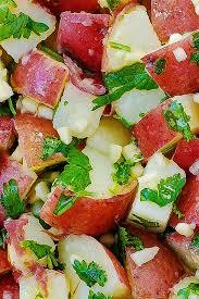 cilantro lime potato salad