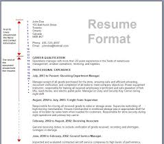 formats of a resume formats for a resume resume format write the best resume