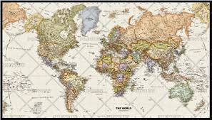 World Globe Map Legacy World Wall Map By Globe Turner