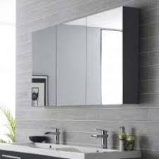 Cheap Mirrored Bathroom Cabinets Mirrored Bathroom Cabinets 2 3 Door Pebble Grey