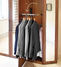 wardrobe racks inspiring wall mounted closet rod wall mounted