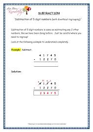 grade 4 maths resources 1 5 1 subtraction of 5 digit numbers with