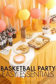 basketball party ideas basketball theme party ideas the ot toolbox