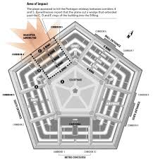 pentagon map the september 11th attack on the pentagon