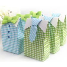 bow tie baby shower decorations 20pcs blue green bow tie baby shower favor candy bag wedding