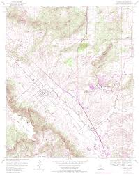 Reston Virginia Map by Topographic Maps Of Riverside County California
