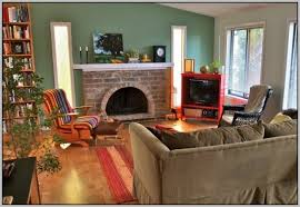 living room paint colors with red brick fireplace aecagra org