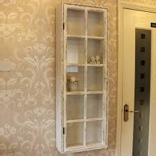 Curio Display Cabinets Uk Antique White Distressed Wall Display Cabinet 2015 Fave House
