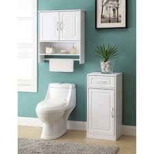 Above Toilet Cabinet Bathroom Lowes Bath Vanities Over Toilet Etagere Space Saver
