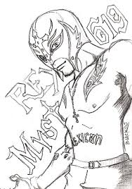 mysterio coloring pages