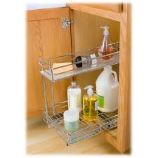 Undersink Cabinet Lynk Professional Roll Out Under Sink Cabinet Organizer Pull Out