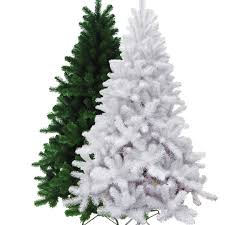 artificial christmas trees on sale artificial christmas tree green or white 6ft roses stores