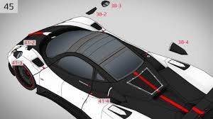 koenigsegg instructions zonda paper super craft instructions youtube