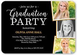grad party invitations fantastic grad party 5x7 graduation invitation shutterfly