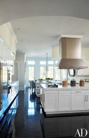 White Kitchens With Dark Floors by Black And White Kitchen Design Ideas